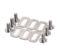 1Set Titanium Ti Bolts Spacers For LOOK KEO Road Bike Clipless Pedals Cleats Self Locking Pedals