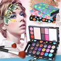 Profesional Shimmer Mate Sombra de Ojos Set Sombra de Ojos maquillaje Paleta de brillo de Labios de Larga duración A Prueba de agua para las mujeres RP1