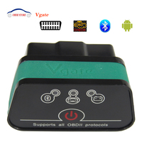 Vgate iCar2 Elm327 Bluetooth OBD2 Adapter iCar 2 Ulme 327 Auto diagnose-Tool Scanner Für Android Obd 2 Auto Codeleser-scanner