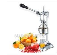 נירוסטה ידני עיתונות מסחטת הדרים מסחטת סחיטת מיץ פירות כתום לימון רימון מסחרי או ביתי