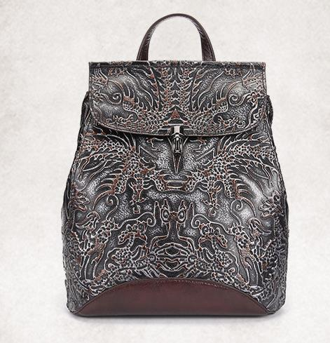 New Arrival Amasie Retro Hand-Rub Color Owl Backpack First Layer Of Leather Shoulder Bags Men And Women General Wholes EGT0205 original hand made retro shoulder bag new vertical section of the small backpack head layer of leather sculpture leather casual