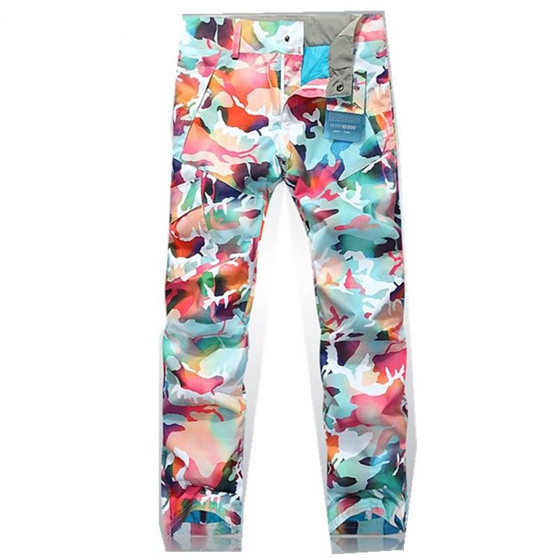 ski pants women's snowboard pants waterproof womens breathable windproof pants sport outdoor skiing pants