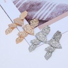 Bohopan Unique Design Woman Irregular Shape Earring New Summer Luxury Drop Earrings For Women Statement Earings Fashion Jewelry