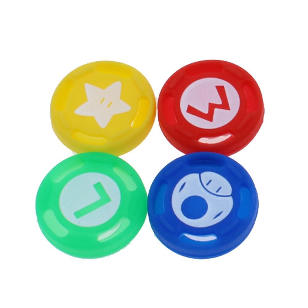 1pcs Silicone Thumb Stick Grip for Switch NS NX PRO for PS4 slim Controller Analog Sticks Cap Cover Joystick Grips for xbox360