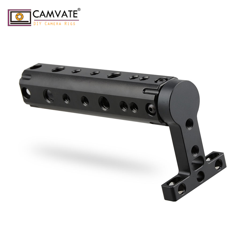 CAMVATE DSLR Video Camera Top Handle Grip for BMCC Black Magic Cinema Camera Top Plate C1105 camera photography accessories image