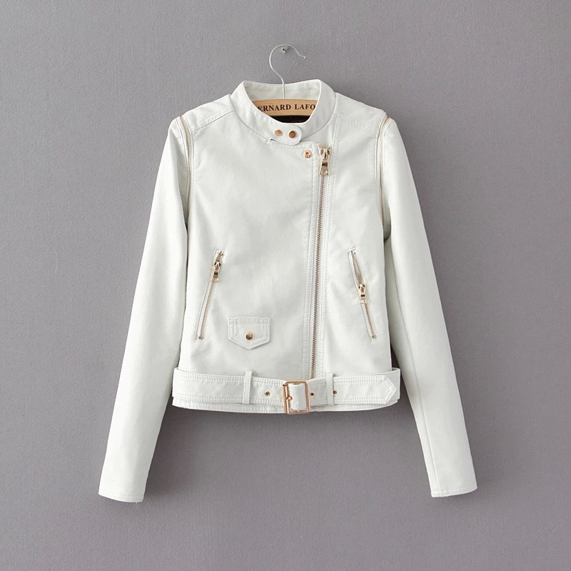 Detachable collar cultivate one's morality sleeve personality fashion lady locomotive small   leather   To do ma3 jia3