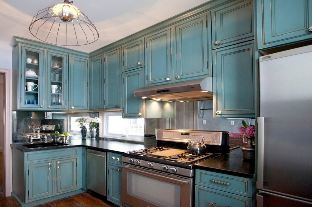 2017 new haker style traditional customized made solid for Traditional painted wood kitchens