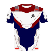 TUNSECHY avengers 4 finale T-shirt Cosplay quantum kingdom 3d printed 2019 mens short-sleeved