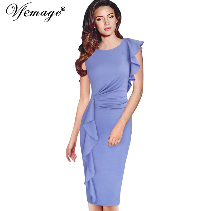 Женское платье Vfemage Bodycon 6665