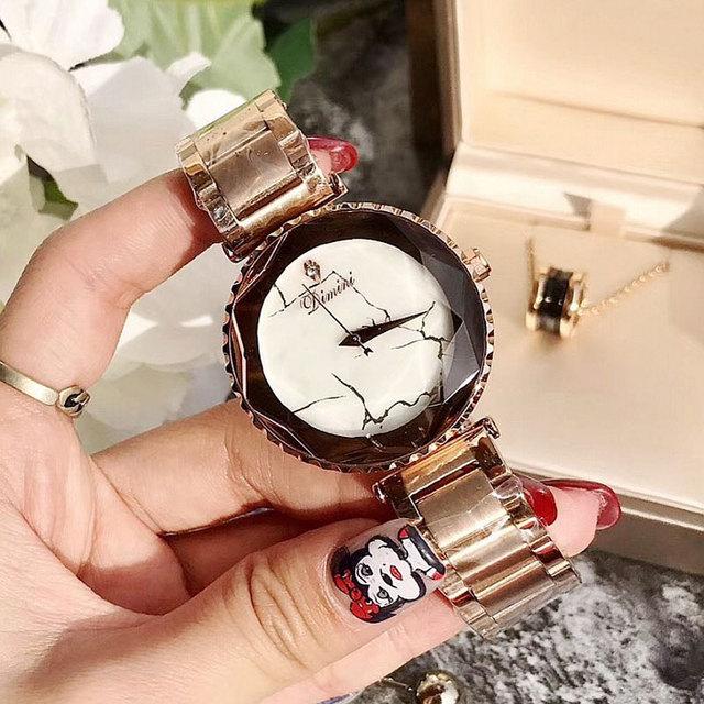 46ff825ddcf Fashion Ladies Watch Luxury Reloj Mujer Women s Watches Rose Gold Stainless  Steel Watch Diamond Clock Women relogios saat Luxury