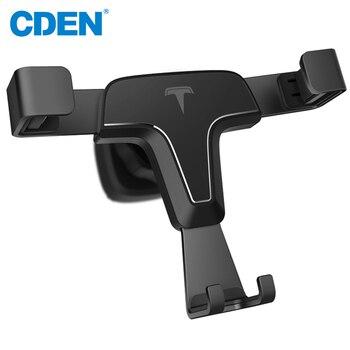 CDEN Universal Gravity Reaction Car Mobile phone holder Clip Air Vent Mount GPS Car Phone Holder for iPhone 7 6s Plus Samsung mobile phone car vent holder