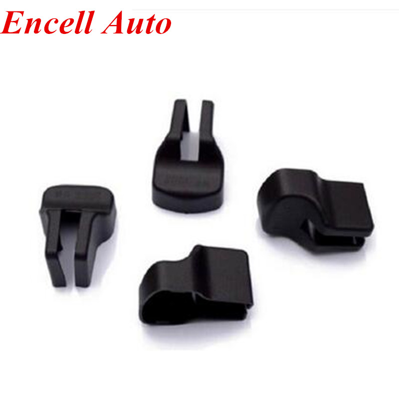 4PCS Car Covers Car Door Stopper Protection Cover For MITSUBISHI LANCER EX ASX Outlander Sport Car Accessories
