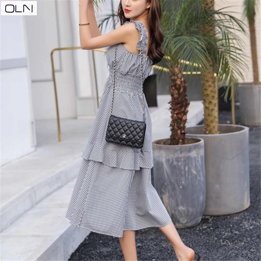 Vestidos/платье в Корейском стиле; летнее платье в стиле ретро, во французском стиле, в стиле «tea break Hepburn wind»; летнее платье для девочек; платье с поясом; S-2XL