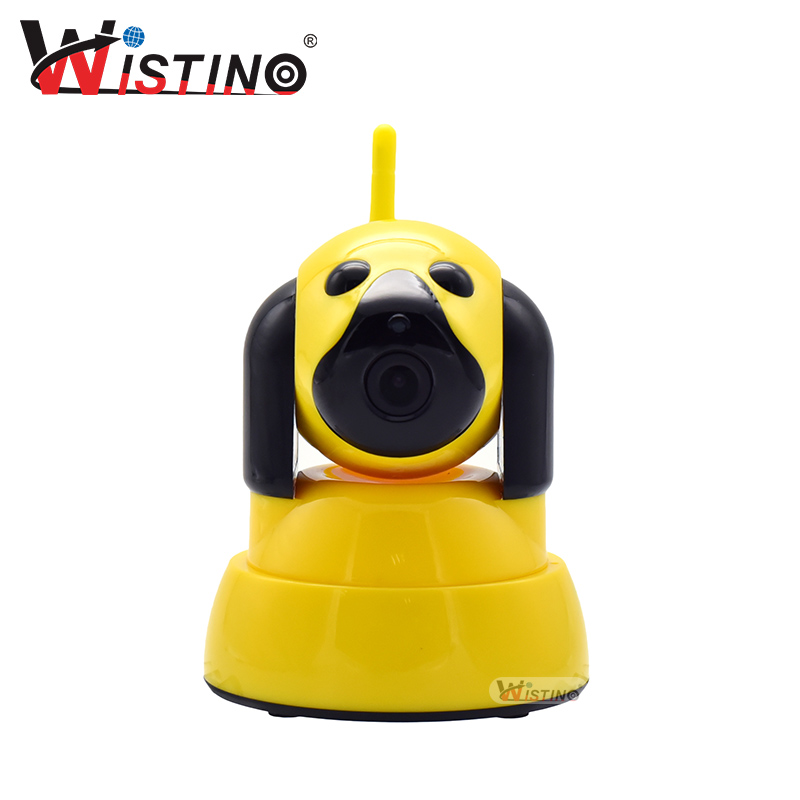 Wistino 720P Baby Monitor WIFI Security IP Camera For Home Smart Dog Wi-Fi CCTV Mini Video Camera Wireless Indoor Night Vision 720p hd hi3518c ov9712 indoor mini security video ip camera with free cms software for home baby security