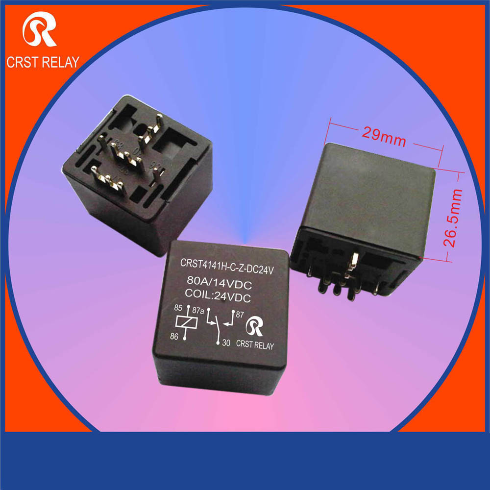 Crst4141h 12v Normally Open Type Auto Relay Pcb Load 80a Control 4 Electrical Feet 1393304 In Instrument Parts Accessories From Tools On Alibaba