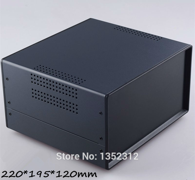 ФОТО One pcs 220*195*120mm iron enclosure for electronic project industry project instrument box outlet case junction control box