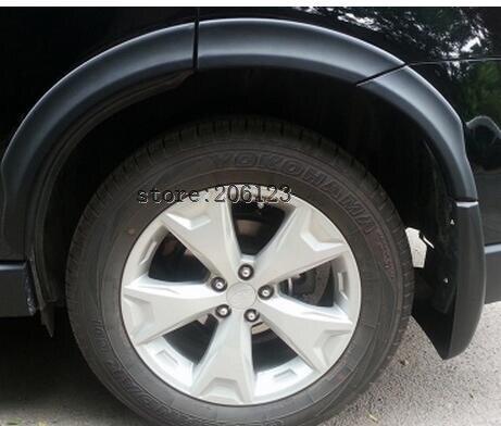 Wheel Eyebrow Round Arc for Subaru Forester 2013 2014 2014 2015 2016 2017 year элитные морские яхты 2013 2014