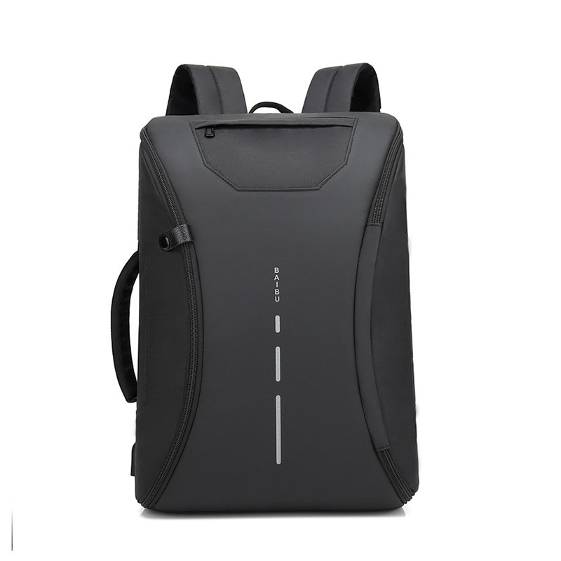 Computer Bag USB Charging Laptop Backpack School Bag for Teenager Boys Waterproof Anti Theft Men Travel