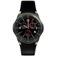 2017 New DM368 Bluetooth Smart Watch 512MB 8GB 3G MTK6580 Android 5 1 Quad Core Wristwatch