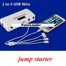 good quality multi-function car battery charger car jump starter 10000mAh mobile phone power bank rechargeable battery