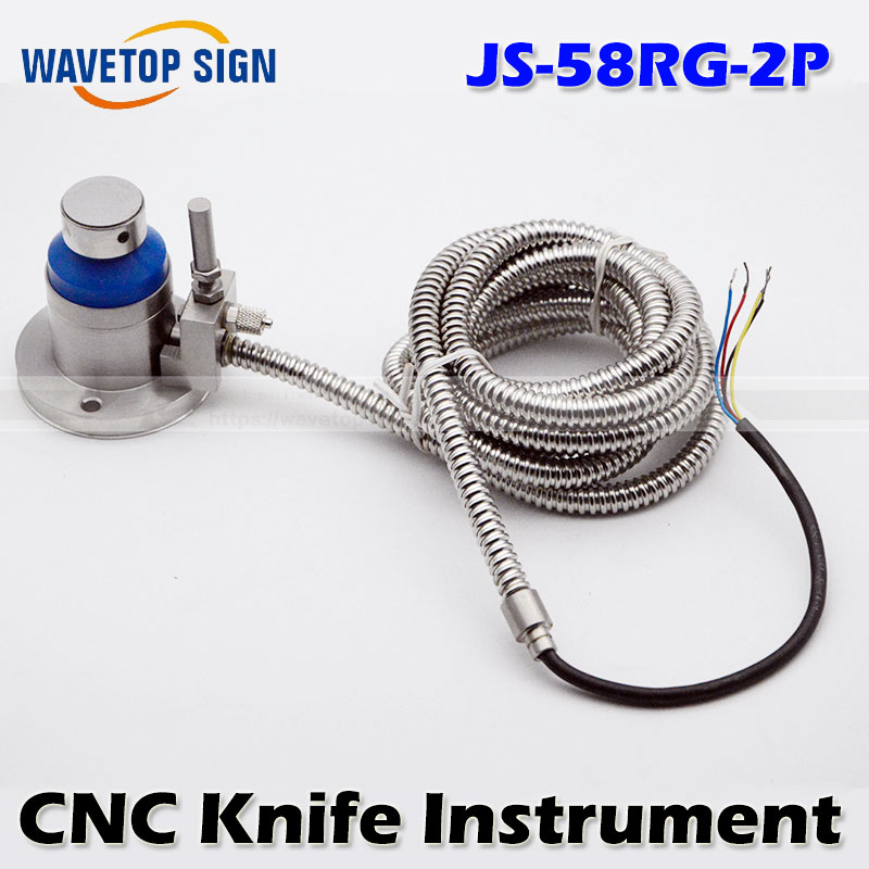 Graphite machine   glass machine  and other special machine   tool setting gauge  JS-58RG-2P 304 high accuracy tool settle gauge wireless cnc router machine tool setting gauge height controller dt02