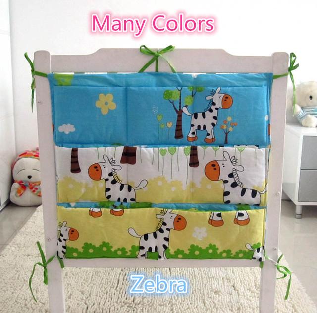 Promoción! gatito Mickey 62 * 52 cm cama de bebé accesorios tela de acoplamiento Hanging Laundry almacenamiento