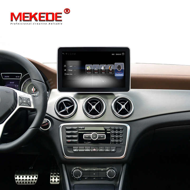 "Mekede 9 ""ANDROID Auto sistema multimediale per Mercedes Benz CLA Classe W117 2013 2014 2015 2016 2017 2018 con 4G WIFI BT carplay"