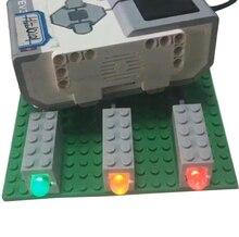 NEW Power Functions Technology Programming lighting EV3 Light robotics Building Blocks For 9686 Display indicator Toys