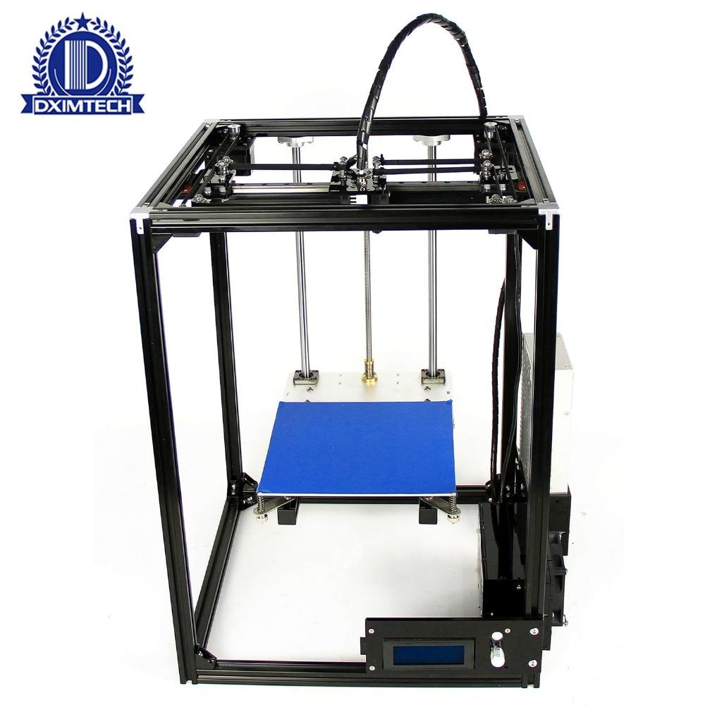 DXIMTECH CB 25 3D комплект принтера один большой принт ГБО лазерная гравировка E3D Экструдер 3d печати рисунка робот corexy 3D принтера