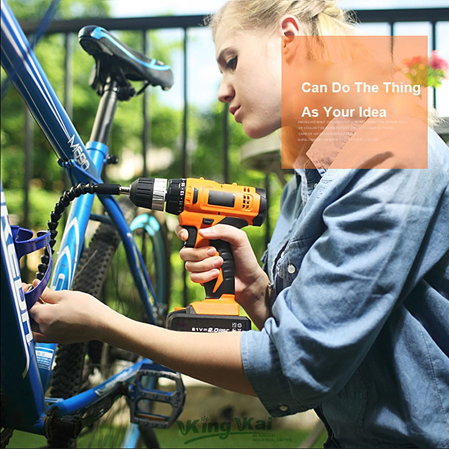 Cordless Lithium Battery Electric Drill-07
