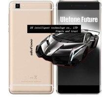 Regalo libre Ulefone MTK6755 de Futuro 5.5 pulgadas FHD Octa Core 4G LTE Smartphone 4 gb ram 32 gb rom android 6.0 otg 16mp dual sim touch id