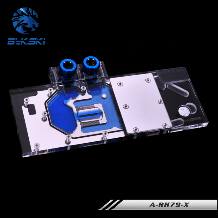 Bykski A-RH79-X for Reference Edition HD7970 HD7950 R9 280X VGA Water Cooling Block цена