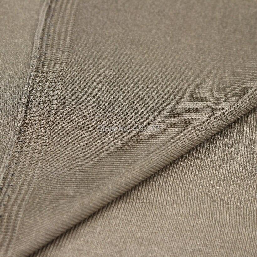 RFID EMF RF EMI Blocking Fabric 100% SILVER FIBER Stretchable Conductive fabric Radiation-Resistant Anti-Static FabricRFID EMF RF EMI Blocking Fabric 100% SILVER FIBER Stretchable Conductive fabric Radiation-Resistant Anti-Static Fabric