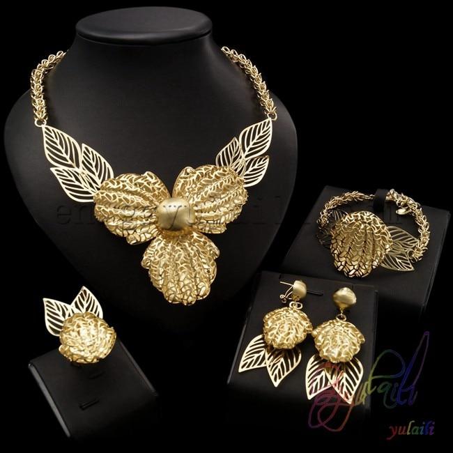 Modeschmuck set vergoldet