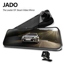 JADO D230 Pro Video Recorder Flusso Dello Specchio di Retrovisione Dell'automobile registrar Full HD 1080 P Dash Cam 24 Ore di Macchina Fotografica di sorveglianza