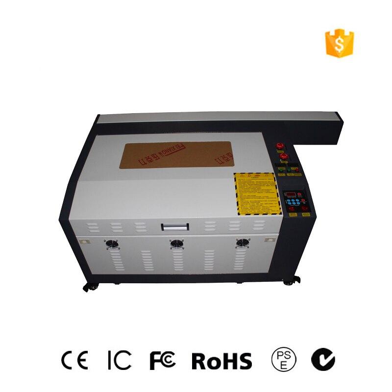 O envio gratuito de 60w desktop 4060 máquina de gravação a laser pequeno ofício máquina de gravura a laser pequena máquina de corte a laser
