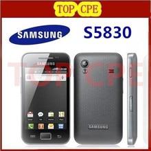 Original Samsung Galaxy ACE S5830 S5830i Unlocked Cell phone Wifi GPS 5MP Camera 2G WCDMA Refurbished GPS WIFI Free Shipping