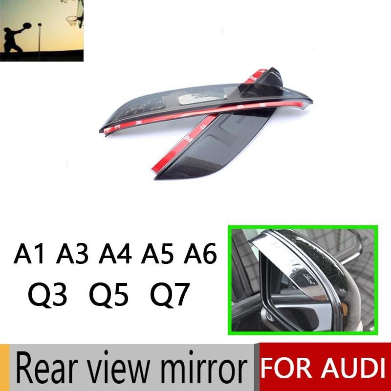 2PCS Hot Sale Plasticl Rearview Mirror Cove For AUDI A1 A3