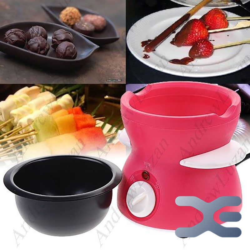 1 Pcs Chocolate Melting Machine PP Body Stainless Pot Capacity 250ML Melter New Chocolate Melting Machine
