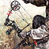 30lbs 60lbs блочного Лука Тысячелетнего Сокола, Сталь шар стрелка двойного назначения треугольник бант M109 Авто Охота стрельба лук подходит для и