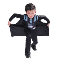 Shanghai Story Star Wars Kids Boy Darth Vader Kailorun Cosplay Costume Halloween Clothes Set