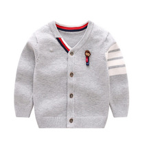 Fashion Baby Sweater V-neck