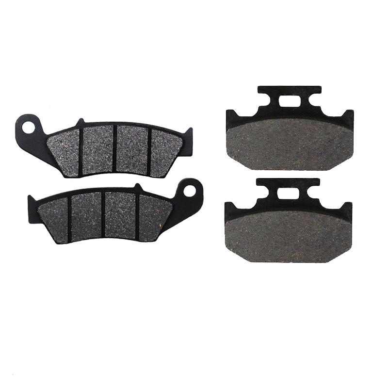 Motorcycle Front and Rear Brake Pads for SUZUKI DR 350 DR350 1997 1998 1999 <font><b>DR650</b></font> DR 6501996-2016 image