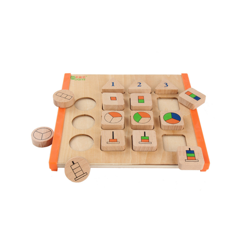 Learning Education Wooden Toys Children's Puzzle 3D Magic Cube Children's Educational Toys Montessori Puzzle Birthday Gift