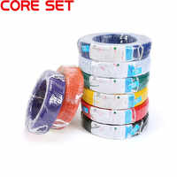 10 Meters UL1007 PVC Wire Ultra Flexiable Cable 24AWG Wire 1.4mm PVC Electronic Cable UL Certification