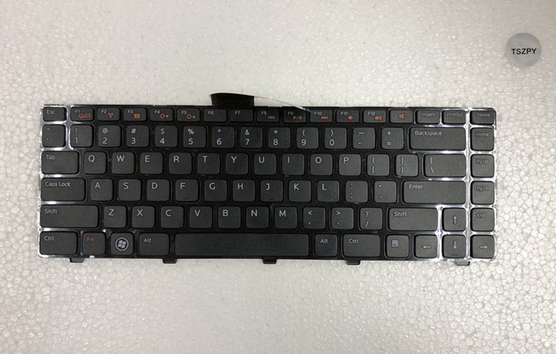 ORIG US <font><b>Keyboard</b></font> For <font><b>Dell</b></font> Inspiron 14R N4110 XPS 15R L502 L502X <font><b>3520</b></font> V119525BS1 image