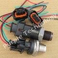 Envío gratis sensor de presion de ferrocarril de combustible diesel bossh conector plug