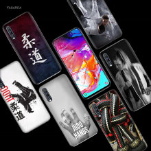 Judo Taekwondo Case for Samsung Galaxy A50 A70 A80 A60 A40 A30 A20 A10 M40 M30 M20 M10 A6 A8 Plus 2018 TPU Capa Phone Bags Cover(China)