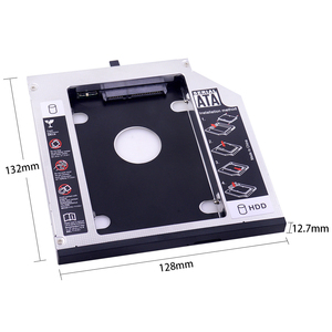 Переходник CHIPAL для установки второго жесткого диска, 12,7 мм, SATA 3,0 для 2,5 дюйма, корпус для твердотельного накопителя 2T, корпус жесткого диска для ThinkPad T420, T430, T520, T530, необычный, CD, DVD, ROM|Корпус жесткого диска|   | АлиЭкспресс