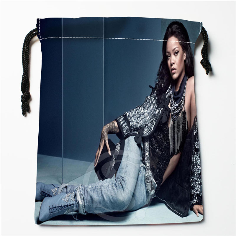W-146 New Rihanna &O Custom Logo Printed  Receive Bag  Bag Compression Type Drawstring Bags Size 18X22cm R801R146RO